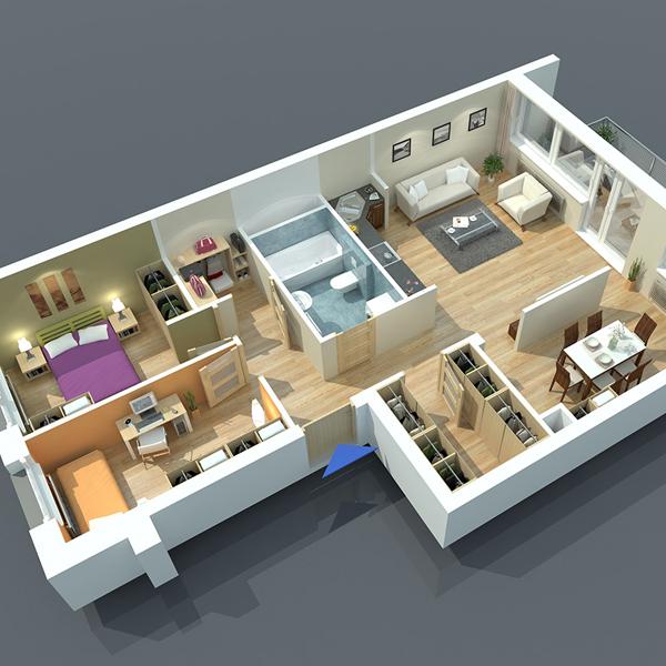 Interior Cutaway 1